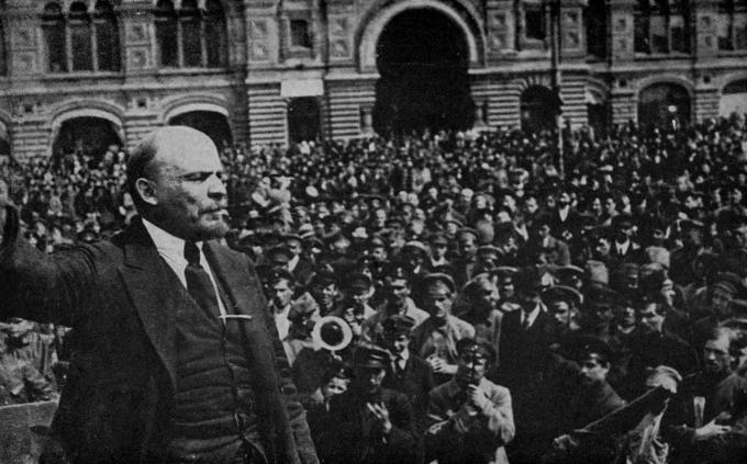 Lenin Speaking