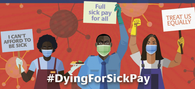 Dying for sick pay