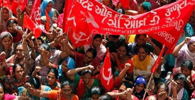 General strike in India