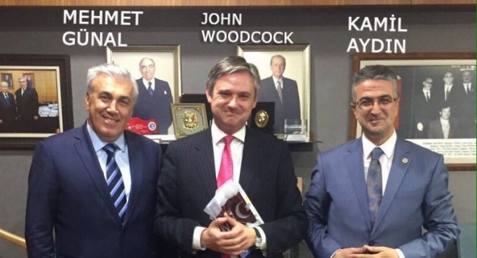 John Woodcock with the Turkish extreme right