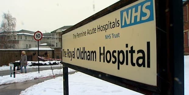 NHS sign in winter