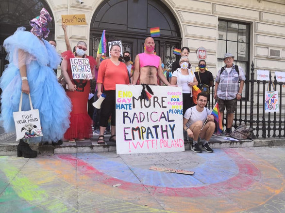 Protest: LGBTQI rights in Poland
