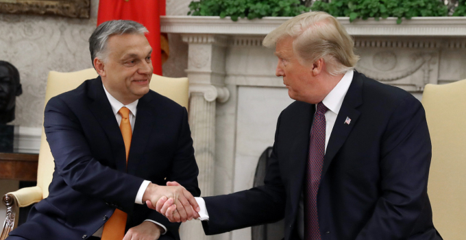 Orban with Trump