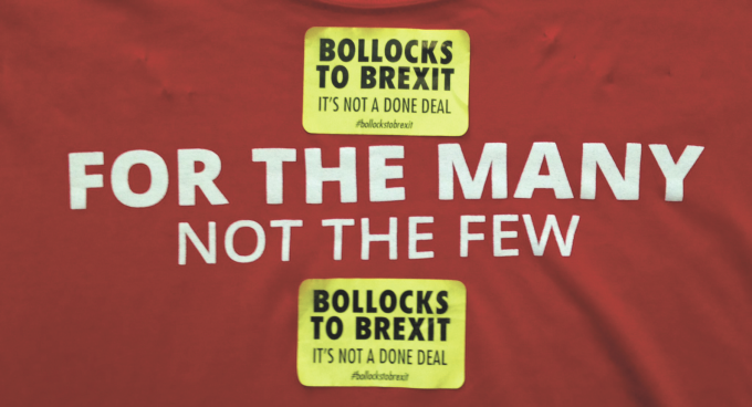 Bollocks to Brexit stickers