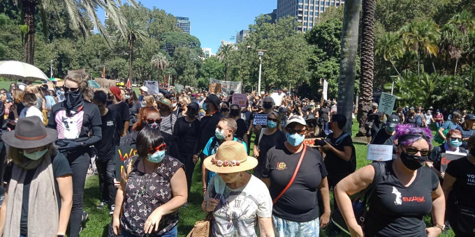 March For Justice Sydney