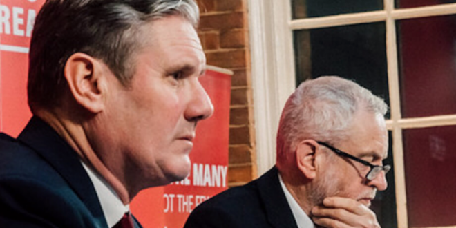 Starmer and Corbyn