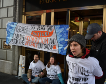 Jews in USA protest at Gaza killings