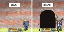 Boris Johnson Brexit cartoon