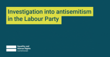 EHRC report on Labour and antisemitism