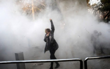 Iranian protester