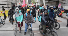 Deliveroo strikers