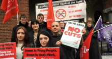 Dudley anti-cuts demo