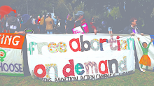 Free abortion on demand banner