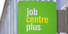Jobcentre sign