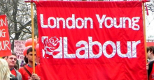 Young Labour banner