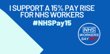 NHS Pay Rise graphic
