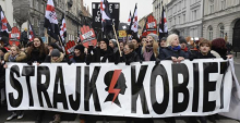 Polish 'Women's Strike' protest