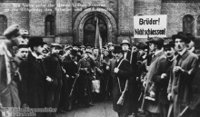 November 1918: revolution in Berlin after World War One