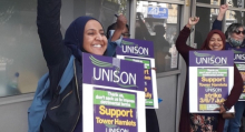 Tower Hamlets strikers