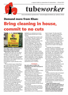 Tubeworker — 28/04/2021: Demand More From Khan!
