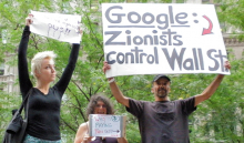 Google Zionists control Wall St
