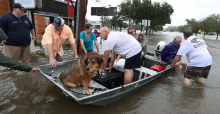 Hurricaine Harvey rescue operation