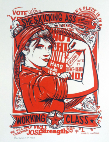 Kicking ass for the working class