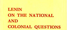 Lenin on the national question