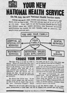 When the NHS began