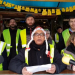 Members of the committee of Gilets Jaunes of Commercy