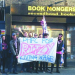 DHFC fans supporting the Picturehouse dispute