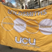 Goldsmiths UCU banner