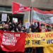 United Voices of the World action at Ministry of Justice