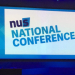 NUS conference screen
