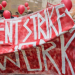Rent strike banner