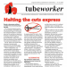 Tubeworker — 21/07/2020: Halting The Cuts Express