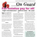 On Guard - August 2020, Issue 23 - Full Isolation Pay For All!