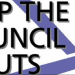 No more council cuts