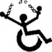 Wheelchair breaking chains