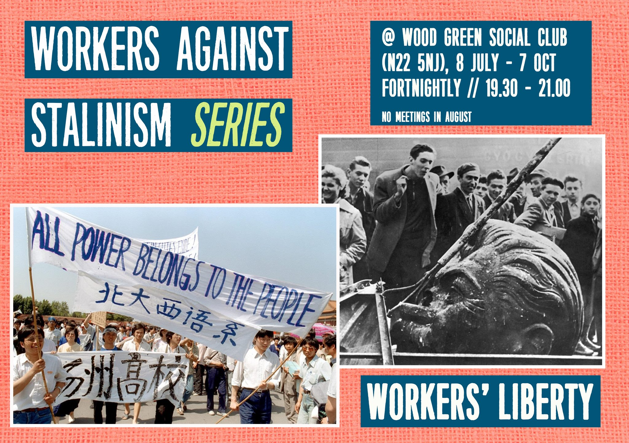 Workers against Stalinism series